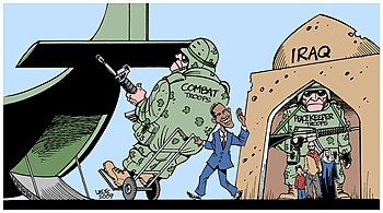"""Obama's Iraq """"withdrawal"""" in a nutshell"""