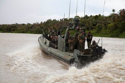 File:US Navy 111014-A-ZZ999-002 A Navy riverine patrol boat conducts amphibious assault exercise with the 2nd Amphibious Assault Battalion, Alpha Compan.jpg