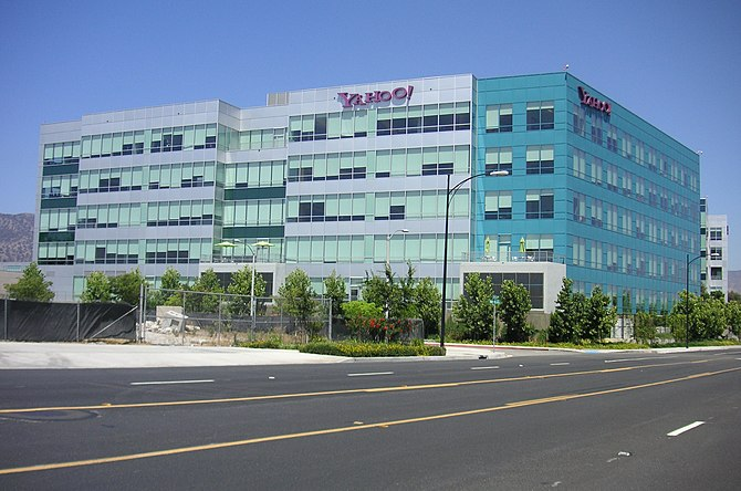 Yahoo! office in Burbank, CA