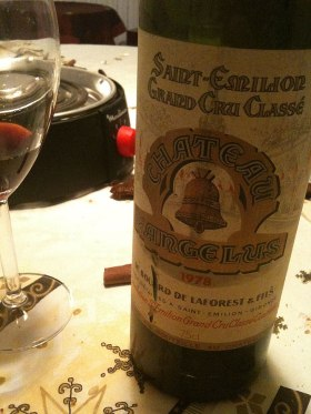 St Emilion Grand Cru Classe from the French wi...