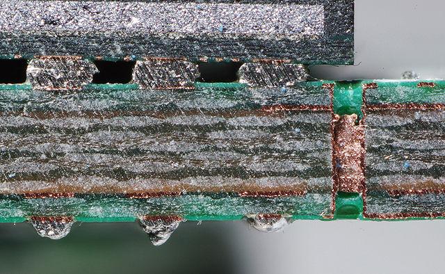 PCB Cutaway