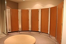 Changing room - Wikipedia