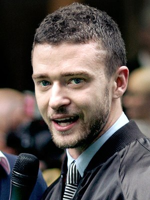 Justin Timberlake at the Shrek the Third Londo...