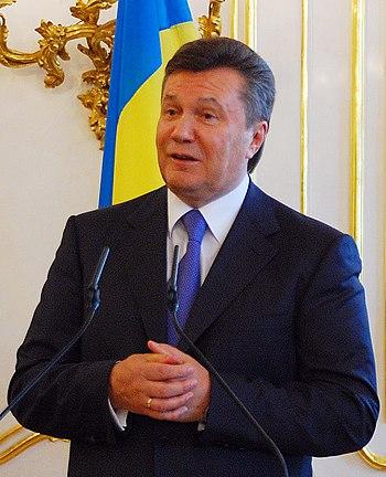 English: Viktor Yanukovych