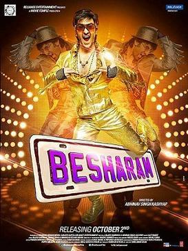Download Besharam (2013) Hindi Movie 375MB BRRip 480P ESubs