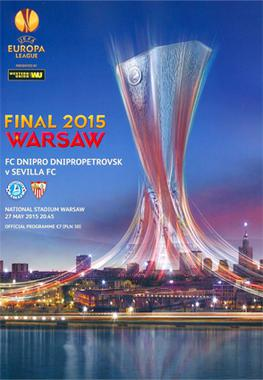 2015 UEFA Europa League Final - Wikipedia