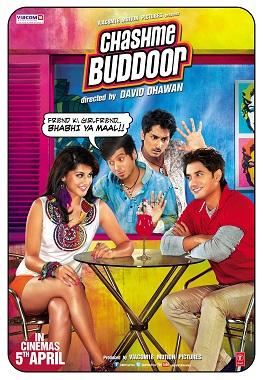 Download Chashme Baddoor (2013) 350MB BRRip 480P ESubs