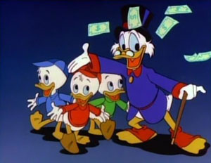 ScroogeWithNephews What does it mean to be rich?