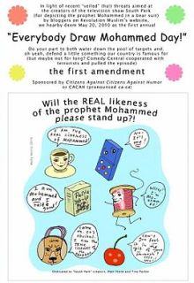 Everybody Draw Muhammad Day! cartoon by Molly Norris