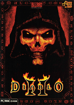 Cover art from Diablo II, a game designed by S...