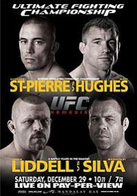 A poster or logo for UFC 79: Nemesis.