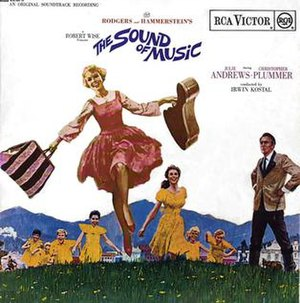 The Sound of Music LP cover.
