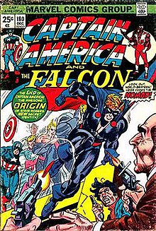 Captain America   Wikipedia Captain America  180  Dec  1974   Captain America becomes  Nomad   Cover  art by Gil Kane and Frank Giacoia