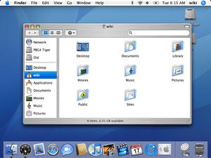 Tiger OS X