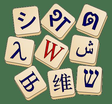 Wiktionary/logo - Meta