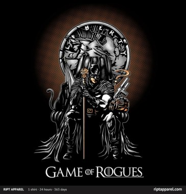 Movie T-Shirt - Game of Rogues - RIPT Apparel