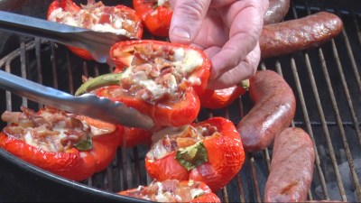 Bacon & Cheese Stuffed Peppers Recipe | BBQ Pit Boys