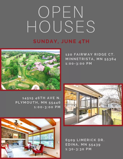 Medium Of Open Houses This Weekend
