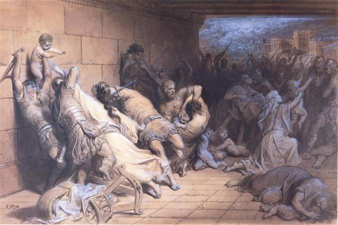 The Martyrdom of the Holy Innocents, 1868 - Gustave Dore