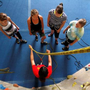 instruction fitness class rock gym 102 upper limits indoor rock climbing gym st. louis