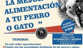 TALLER DE NUTRICIÓN EN COLABORACIÓN CON EL GALGO ALADO