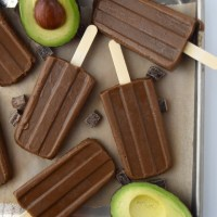 Avocado Fudge Pops