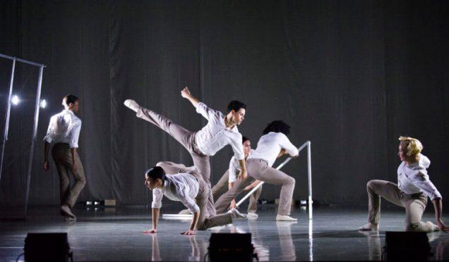 A scene from Frames by Rambert Dance Company ©Tristram Kenton