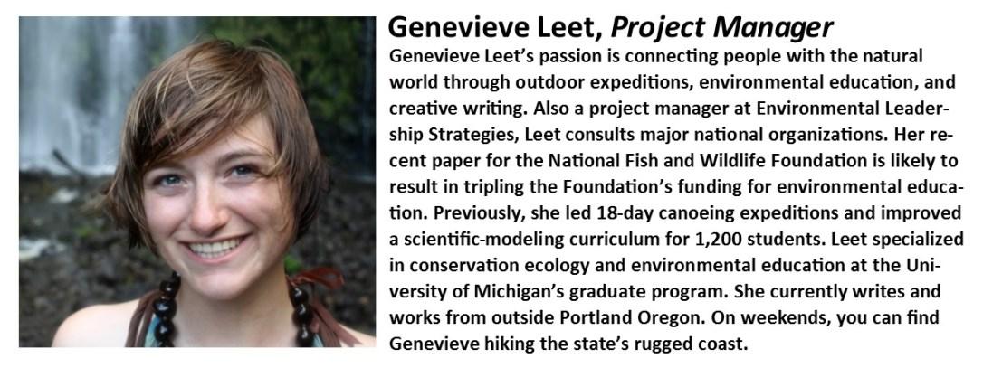 Genevieve Leet Bio