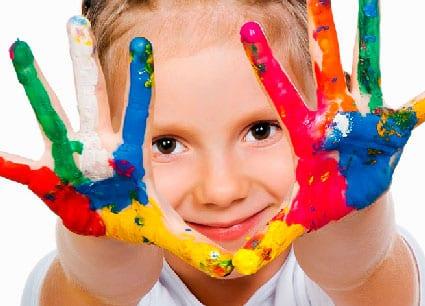Pinturas com mãos