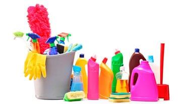 detergentes. 9 perigos para as crianças que temos de evitar