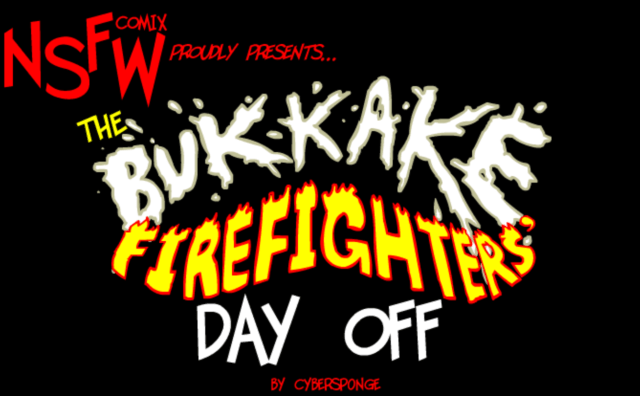 Bukkake firefighters day off