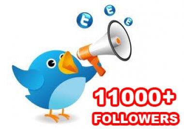 11,000 followers