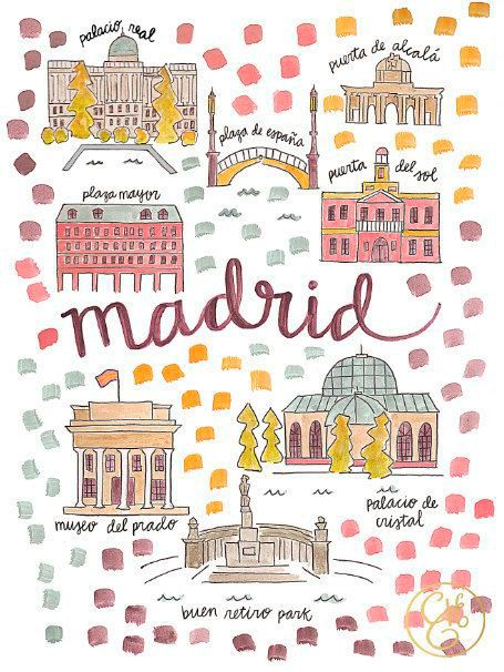 Madrid by Elisabeth Fields