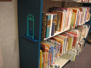 fairy, fairy door, fairy doors, faery, faery door, faery doors, fairy doors of Ann Arbor, Ann Arbor District Library