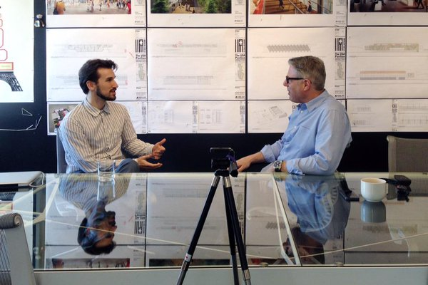 An interview with architect James Biber of the US Food Pavilion at Expo Milan.