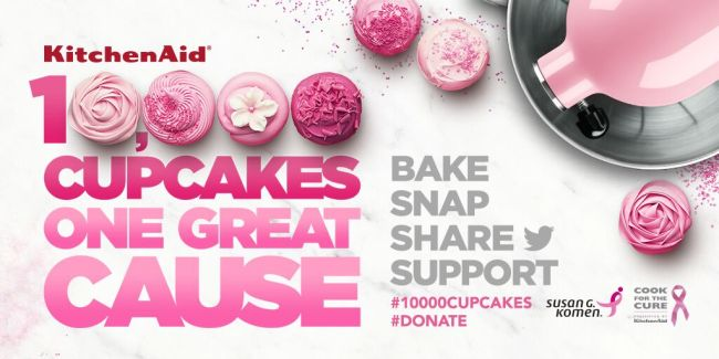10,000 Cupcakes One Great Cause from KitchenAid | URBAN BAKES