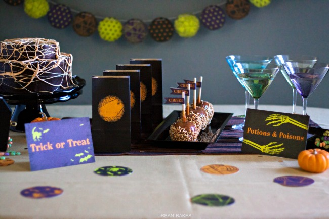 Glam Your Halloween Party with Minted (Spirited Decor) | URBAN BAKES