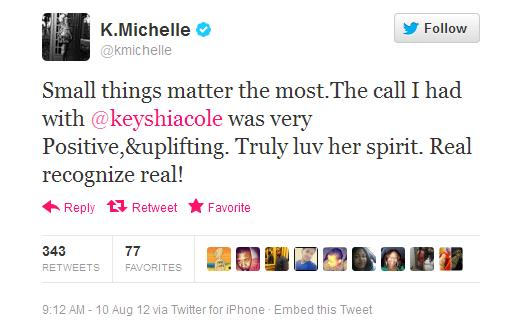 keyshia and k michelle beef