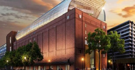 Exterior rendering of the eight-story, 430,000-square-foot Museum of the Bible. Opening in 2017, the museum is being designed by lead architect group Smith Group JJR (Smith Group JJR/ Museum of the Bible)