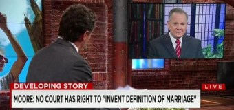 CNN's Chris Cuomo to Alabama Chief Justice Moore: 'Our Laws Do Not Come from God'