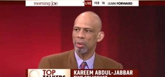 ISIS as Islamic as the KKK Is Christian, Kareem Abdul-Jabbar Says
