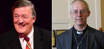 Stephen Fry Has the Right to Call God 'Monstrous, a Maniac', Archbishop of Canterbury Says