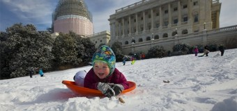 Sledding Ban on Capitol Hill Now Being Enforced