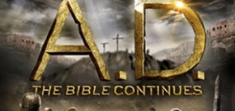 "Nearly 10 Million People Watched ""A.D.: The Bible Continues"" on Easter Sunday; 2.5 Million Watched ""Killing Jesus"""
