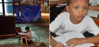 The Power of a Picture: 9-Year-Old Homeless Boy's Life Changes After He's Photographed Doing Homework Outside McDonald's