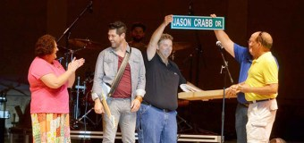 Jason Crabb Honored With Street Name In His Hometown