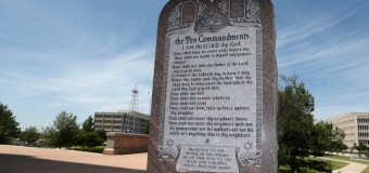 Court: Oklahoma Capitol's 10 Commandments Stone Monument Must Go