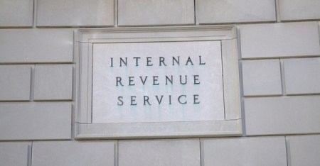 The Internal Revenue Service (IRS) building stands in Washington, D.C. (Ray Tsang/Flickr/CC)