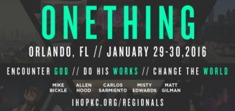 """Misty Edwards and Matt Gilman to Appear at """"Onething Orlando 2016"""" Friday and Saturday, January 29 & 30"""