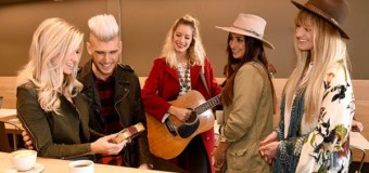 HERSHEY'S KISSES Helps Colton Dixon Surprise Wife Annie for Valentines Day With UBER Serenade In Nashville
